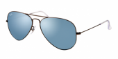 Gafas de Sol Ray-Ban AVIATOR LARGE METAL RB3025 029/30 MATTE GUNMETAL - GREEN MIRROR SILVER