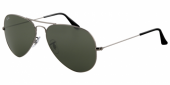 Gafas de Sol Ray-Ban AVIATOR LARGE METAL RB3025 W0879 GUNMETAL - GREY GREEN