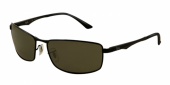 Gafas de Sol Ray-Ban RB3498 002/9A BLACK - POLAR GREEN