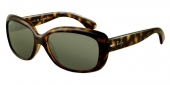 Gafas de Sol Ray-Ban RB4101 JACKIE OHH 710 LIGHT HAVANA - CRYSTAL GREEN