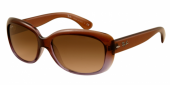 Gafas de Sol Ray-Ban RB4101 JACKIE OHH 860/51 BROWN GRADIENT LILAC - CRYSTAL MG CHOCOLATE GRAD