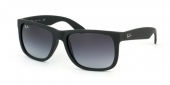 Gafas de Sol Ray-Ban RB4165 JUSTIN 601/8G RUBBER BLACK - GREY GRADIENT