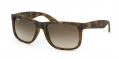 Gafas de Sol Ray-Ban RB4165 JUSTIN 710/13 RUBBER LIGHT HAVANA - BROWN GRADIENT
