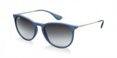 Gafas de Sol Ray-Ban ERIKA RB4171 60028G RUBBER BLUE - GREY GRADIENT
