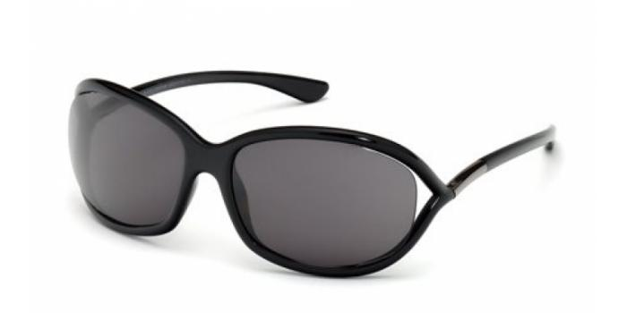 Gafas de sol Tom Ford FT0008 JENNIFER 199 negro brillo / gris
