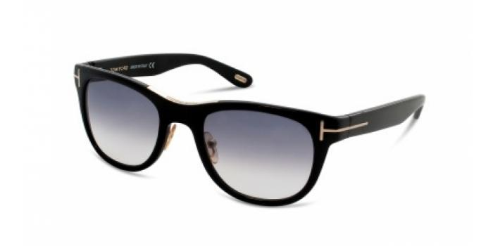 Gafas de sol Tom Ford FT0045 JACK 01B negro brillo / gris