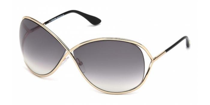 Gafas de sol Tom Ford FT0130 MIRANDA 28B dorado brillo / gris