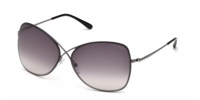 Gafas de sol Tom Ford FT0250 COLETTE 08C antracita brillo / g