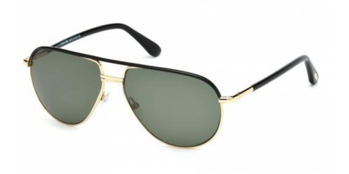 Gafas de sol Tom Ford FT0285 COLE 01J negro brillo / rovie