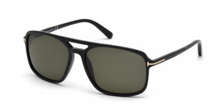 Gafas de sol Tom Ford FT0332 TERRY 01B negro brillo / gris