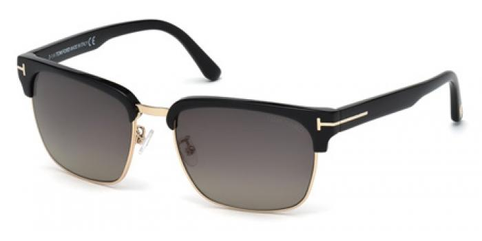 Gafas de sol Tom Ford FT0367 RIVER 01D negro brillo / gris