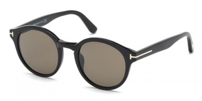 Gafas de sol Tom Ford FT0400 LUCHO 01J negro brillo / rovie
