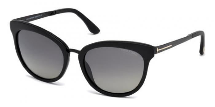 Gafas de sol Tom Ford FT0461 EMMA 02D negro mate / gris po