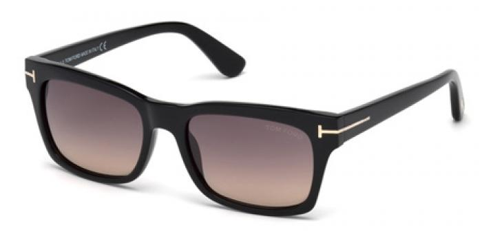 Gafas de sol Tom Ford FT0494 FREDERIK 01B negro brillo / gris