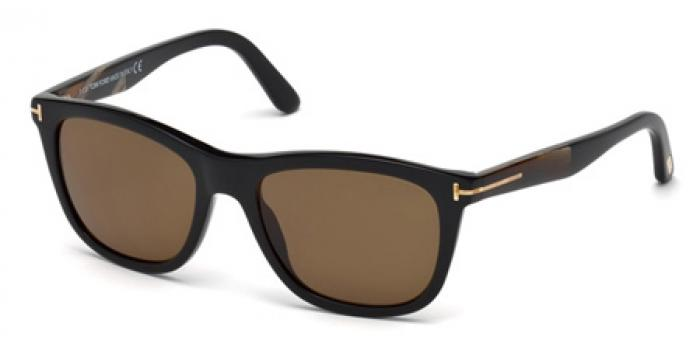 Gafas de sol Tom Ford FT0500 ANDREW 01H negro brillo / marró