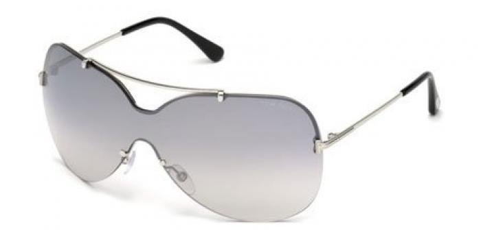 Gafas de sol Tom Ford FT0519 ONDRIA 16C plata brillo / gris