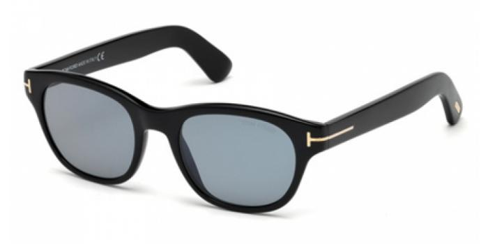 Gafas de sol Tom Ford FT0530 O'KEEFE 01V negro brillo / azul