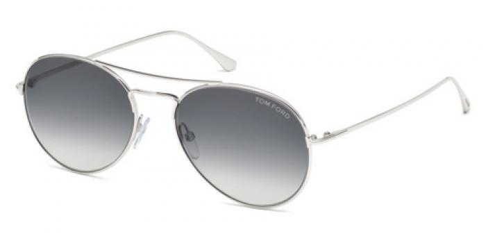 Gafas de sol Tom Ford FT0551 ACE 18B rodio brillo / gris