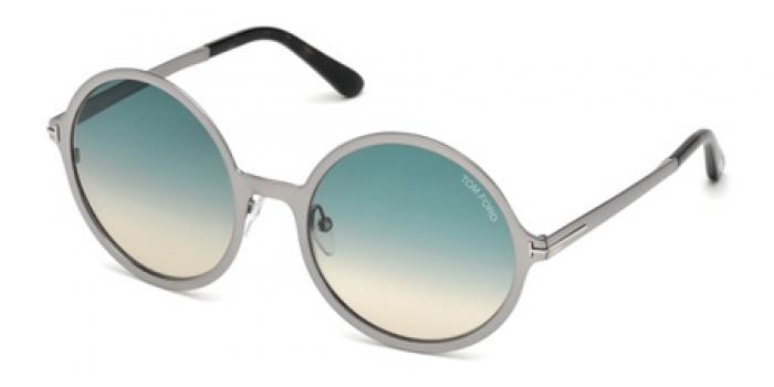 Gafas de sol Tom Ford FT0572 AVA 14W rutenio claro brillo