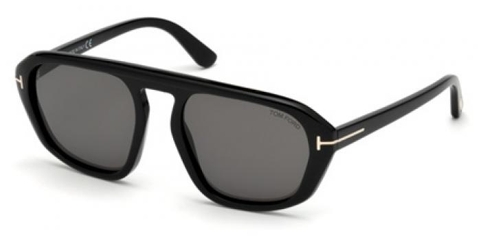 Gafas de sol Tom Ford FT0634 DAVID 01A negro brillo / gris
