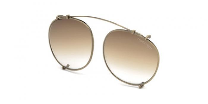 Gafas de sol Tom Ford FT5294-CL 29K dorado mate / roviex