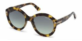 Gafas de sol Tom Ford FT0611 55P havana colorada / ve