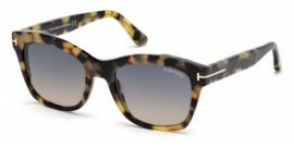 Gafas de sol Tom Ford FT0614 LAUREN 55B havana colorada / gr
