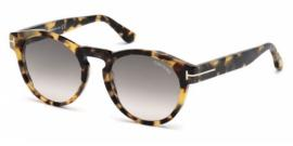 Gafas de sol Tom Ford FT0615 MARGAUX 55B havana colorada / gr