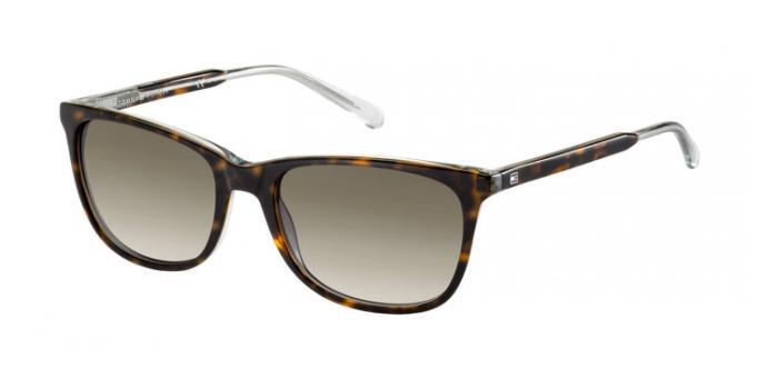 Gafas de sol Tommy Hilfiger TH 1232/S 1IL (HA) HAVANA / BROWN SHADED
