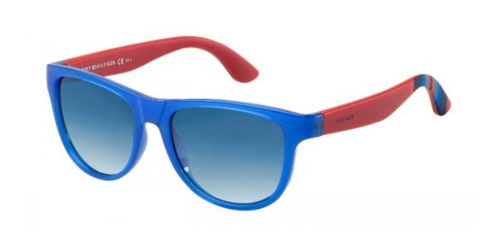 Gafas de sol Tommy Hilfiger TH 1341/S H9Q (08) BLUE/RED / DARK BLUE SHADED