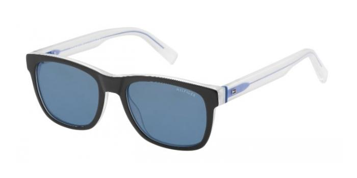 Gafas de sol Tommy Hilfiger TH 1360/S K52 (72) BKCRYBLUE /