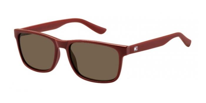 Gafas de sol Tommy Hilfiger TH 1418/S 2B5 (X1) RED / BROWN