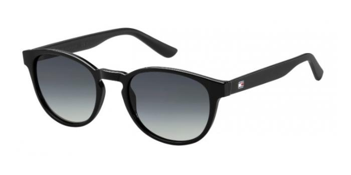 Gafas de sol Tommy Hilfiger TH 1422/S D28 (HD) SHN BLACK / GREY SF