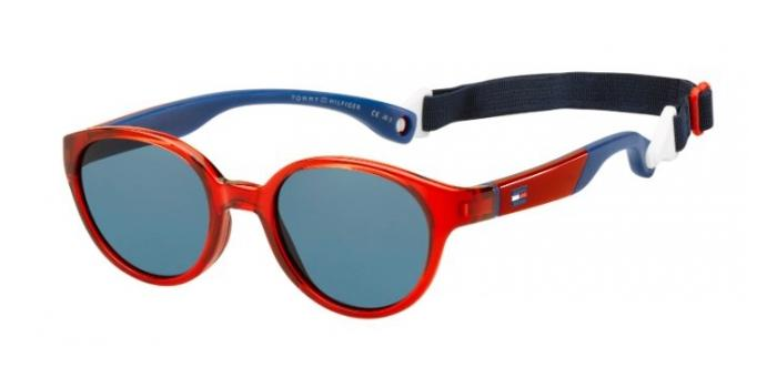 Gafas de sol Tommy Hilfiger TH 1424/S Y7G (8F) RED BLUE - BLUE