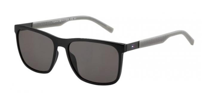 Gafas de sol Tommy Hilfiger TH 1445/S L7A (NR) BLACKGREY - BRW GREY