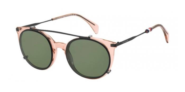 Gafas de sol Tommy Hilfiger TH 1475/C 35J (99) PINK / TRANSPARENT