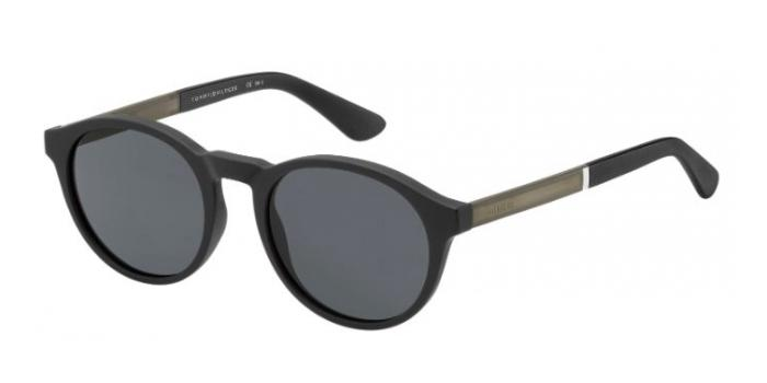 Gafas de sol Tommy Hilfiger TH 1476/S 003 (IR) MTT BLACK / GREY BLUE