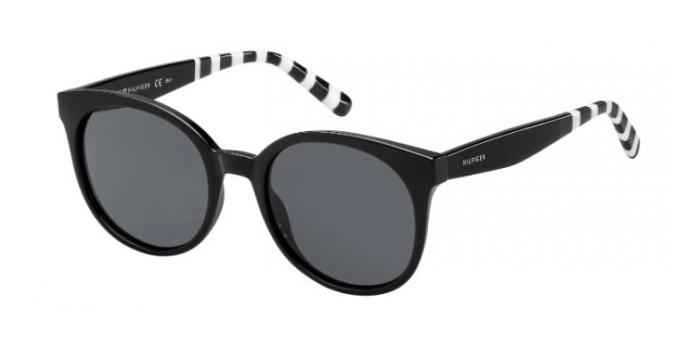 Gafas de sol Tommy Hilfiger TH 1482/S 807 (IR) BLACK / GREY BLUE