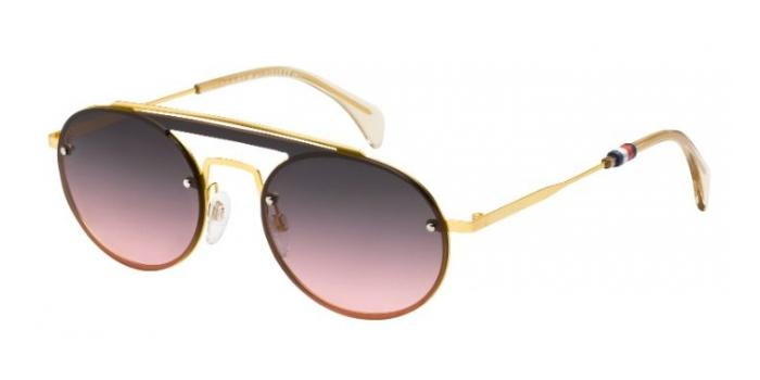 Gafas de sol Tommy Hilfiger TH 1513/S 001 (FF) YELL GOLD - GREY FUCHSIA