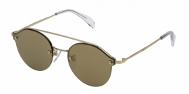 Gafas de Sol Tous STO358 300G SHINY ROSE GOLD-BROWN/MIRROR GOLD