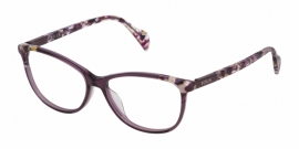 Gafas Graduadas Tous VTOA21 09PW SHINY TRANSPARENT PURPLE-