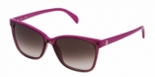 Gafas de Sol Tous STOA05 0W48 SHINY TRANSPARENT PLUM PURPLE-BROWN GRADIENT PINK