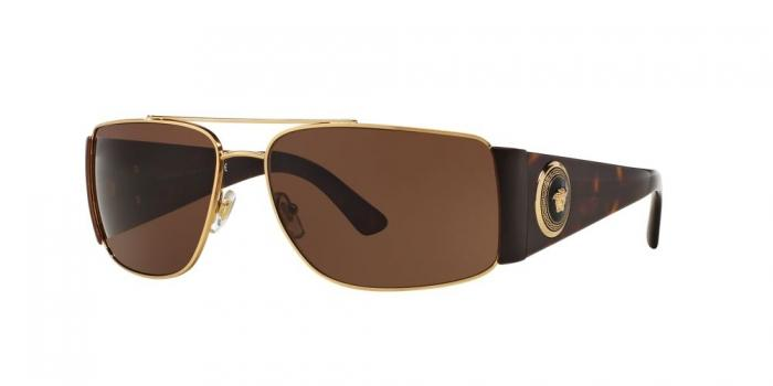 Gafas de sol Versace VE2163 100273 GOLD - BROWN