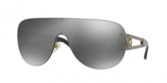 Gafas de sol Versace VE2166 12526G PALE GOLD - GREY MIRROR SILVER