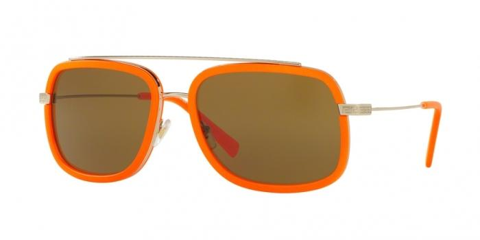 Gafas de sol Versace VE2173 138973 PALE GOLD/FLUO ORANGE - BROWN