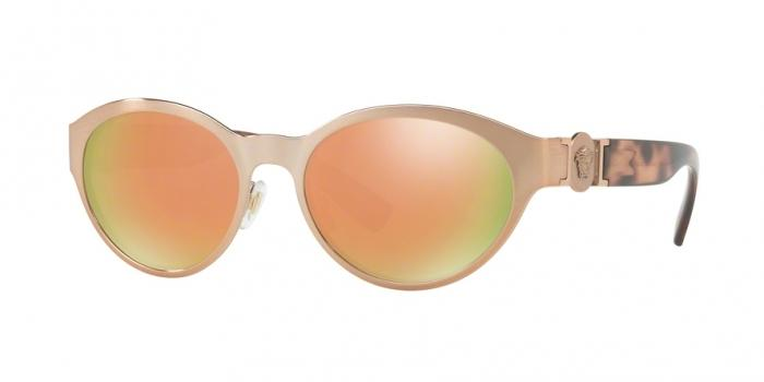 Gafas de sol Versace VE2179 13614Z BRUSHED COPPER - GREY MIRROR ROSE GOLD