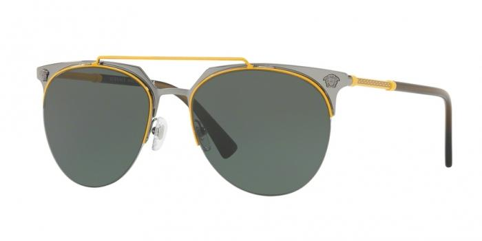 Gafas de sol Versace VE2181 100171 YELLOW/GUNMETAL - GREEN