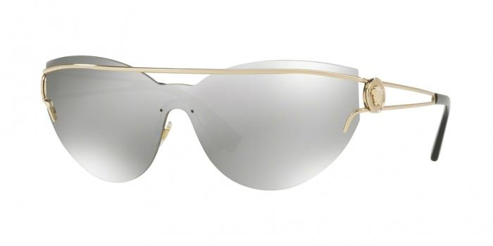 Gafas de sol Versace VE2186 12526G PALE GOLD - LIGHT GREY MIRROR SILVER