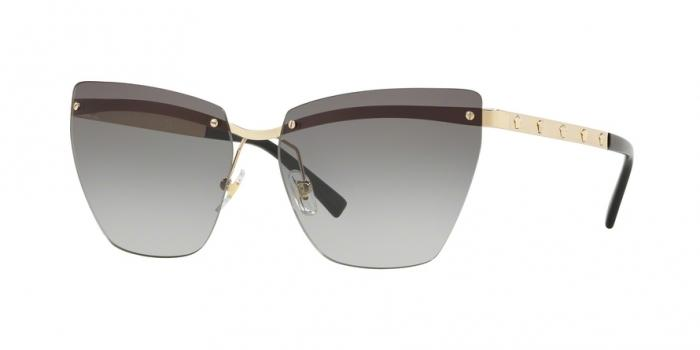 Gafas de sol Versace VE2190 125211 PALE GOLD - GREY GRADIENT