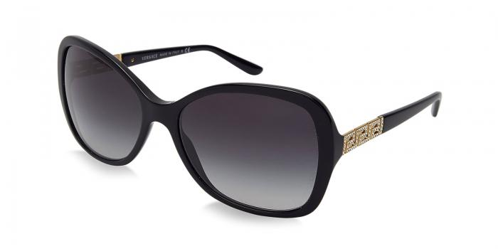 Gafas de sol Versace VE4271B GB1/8G BLACK - GRAY GRADIENT